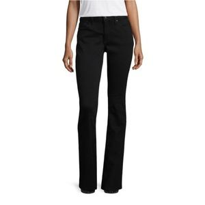 NWT a.n.a. Mid-rise Bootcut Jeans in Black